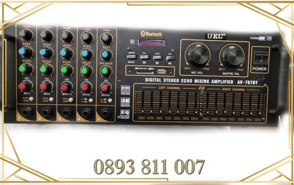 4000в голям Домашен усилвател/стъпало + караоке- аудио усилвател