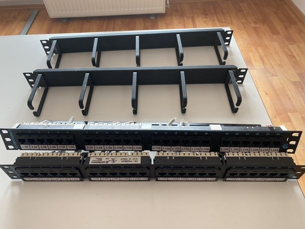 Patch panel 24 porturi Ortronics PHD66U24 si bonus