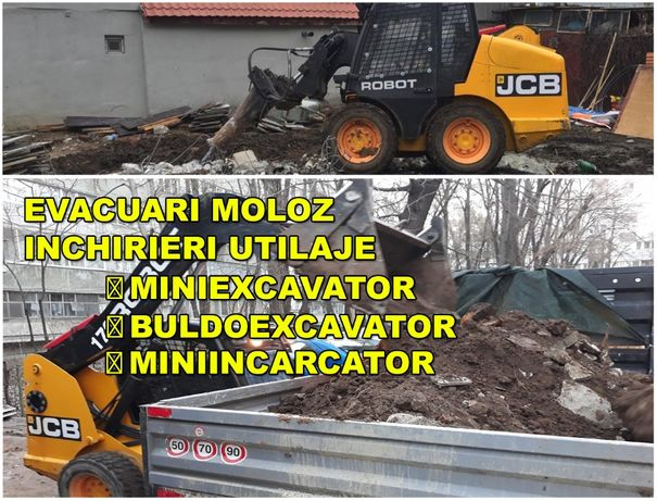 lucrări bobcat inchiriere bobcat inchiriez miniexcavator