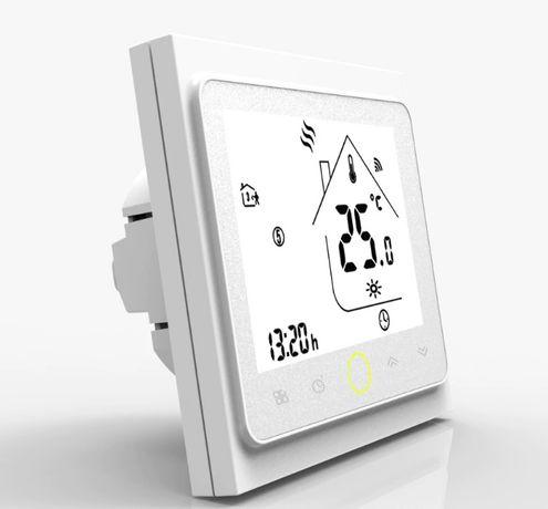 Termostat smart WiFi centrala compatibil Alexa si Google