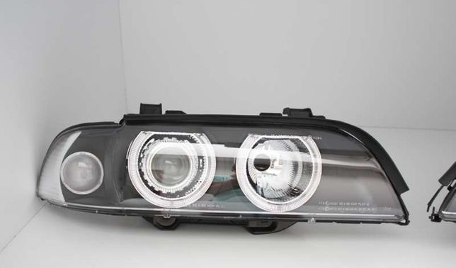 ** PROMOTIE ** Faruri Angel Eyes BMW Seria 5 E39 1996-2003