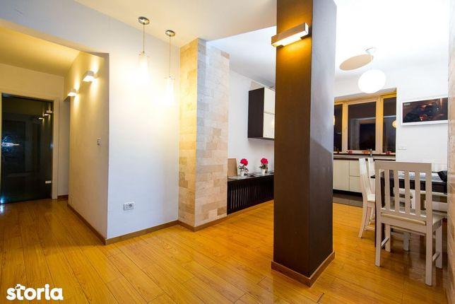 Apartament 3 camere, amenajat lux, zona Alfa, mobilat si utilat