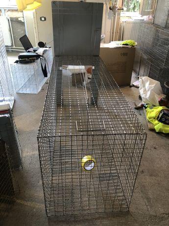 Capcana vulpi/câini suuuper mare/ 140 cm Produs nou