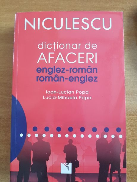 Dicţionar de afaceri englez-român/român-englez