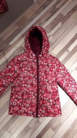 vand jacketa de iarna florala +bonus căciulă
