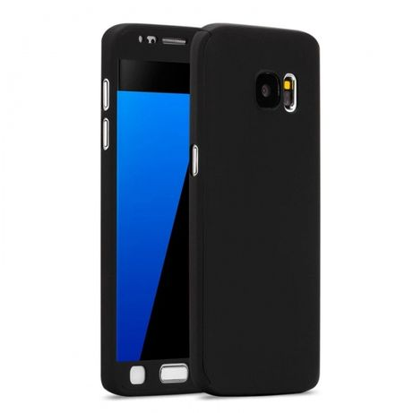 Кейс 360 градуса Мат за Samsung Galaxy S5 S6 S7 edge S8 Note 4 8 J5 J7