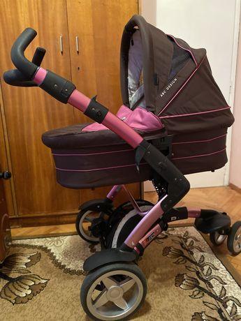 Детска количка 3 в 1 ABC design