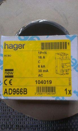 Дефектнотокови защити 16А 30mA HAGER