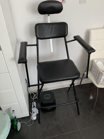 Scaun pliabil pentru machiaj