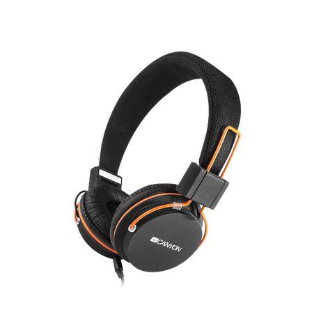 Стилни слушалки Canyon CNE-CHP2, микрофон