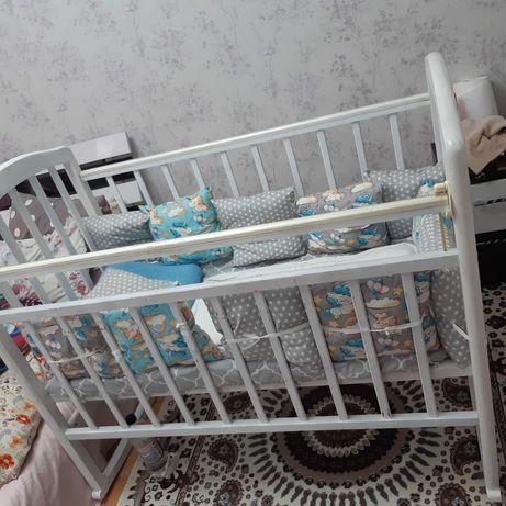 Детский кроватка манеж