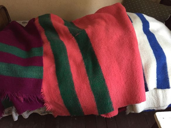 Вълнени одеяла
