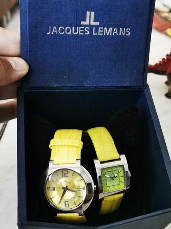 Jaques Lemans 2 ceasuri de damă, originale!