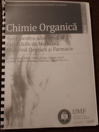 Vând culegere de exercitii chimie organică pentru admitere