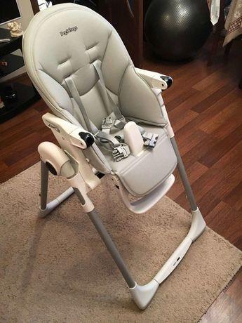 Детский стульчик для кормления Peg-Perego Prima Pappa Follow Me, Серый