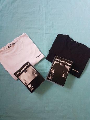 Мъжки тениски KARL LAGERFELD, Оригинални,размер XL/XXL.НОВИ!