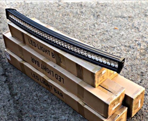 Led bar # curbat / drept # 106 cm / 81 cm  # ledbar / proiectoare
