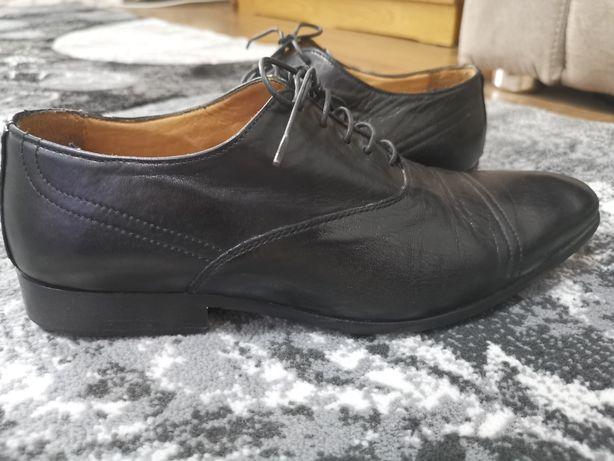 Pantofi bărbătești din piele box