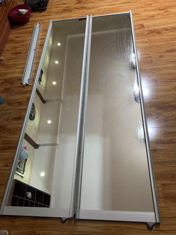Зеркало от шкаф-купе 2 шт