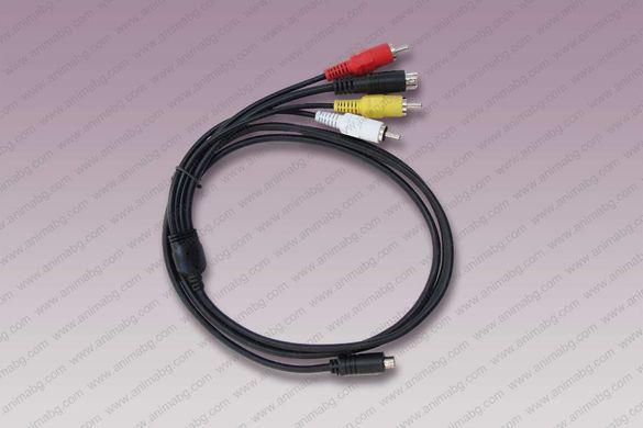 ANIMABG Видео кабел VMC-15FS към AV S-Video