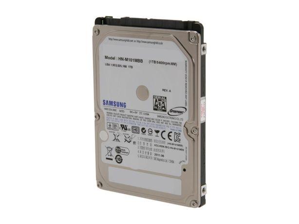 Hard disk HDD laptop 1TB 1000GB SATA3 SAMSUNG ST1000LM024 2.5 inch