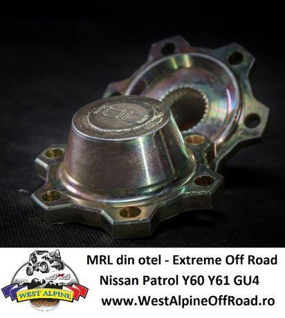 MRL Nissan PATROL Y60 Y61 din OTEL - Extrem de rezistente OFF ROAD