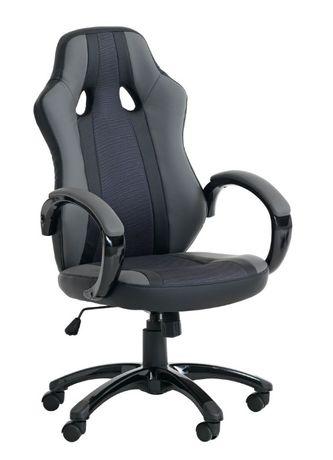 Геймърски стол AGGESTRUP сив/черен