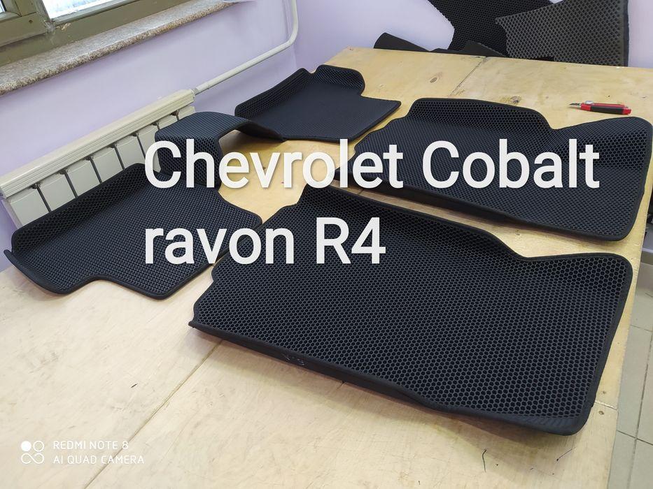 Коврики авто полики Ravon R4 Chevrolet cobalt Павлодар - изображение 1
