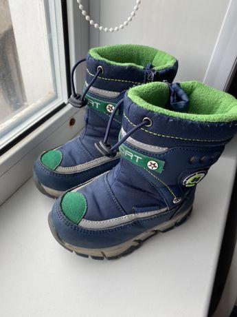 Зим ботиночки 24 р(15 см)