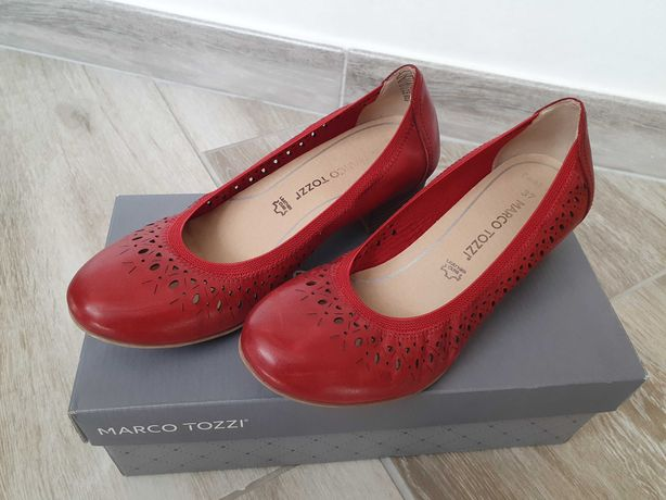 Pantofi dama ( marimea 37 rosu )