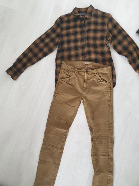 Pantaloni Zara 14 ani + cămașă