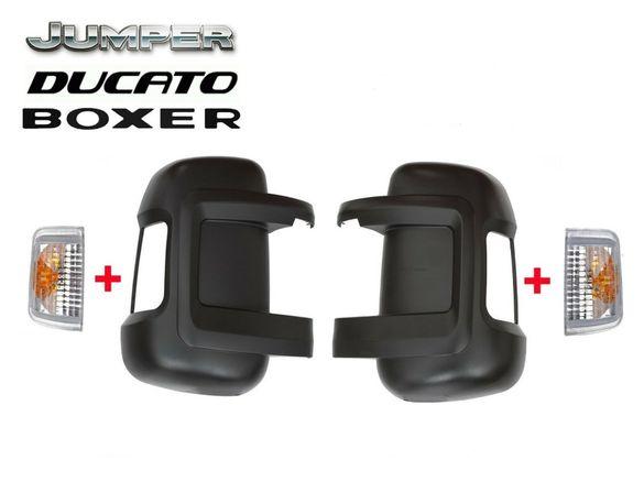 Мигач в огледалото + капак за FIAT DUCATO, PEUGEOT BOXER от 2006 -