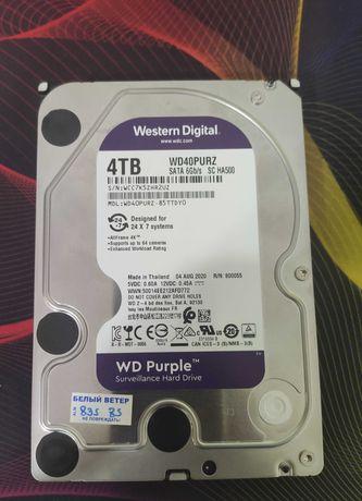 Жесткий диск WD 4Тб как новая