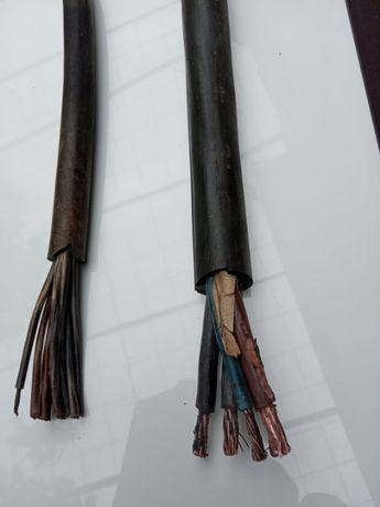 Ел. кабел гумиран Н07 РНФ /ШКПТ/ , 3х16+10мм и 10х1,5мм