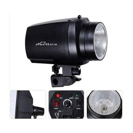 Blitz Studio Nicefoto Flash GY-150 bec modelaj, 150w cabina foto studi