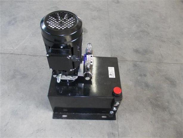 Unitate hidraulica 380 V cu electrovalva 220V si telecomanda