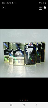 Покерные карты пластиковые