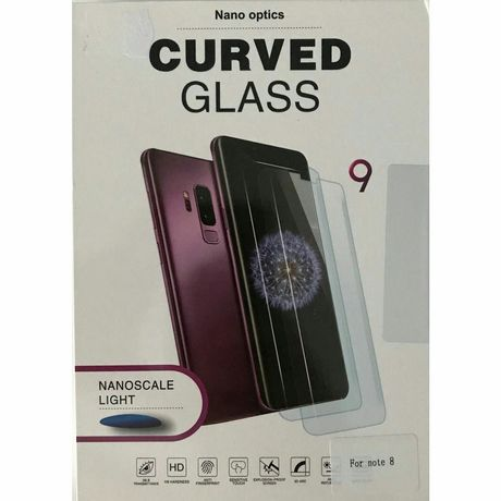 Folie sticla curbata UV Full Glue pentru Samsung Galaxy Note 8