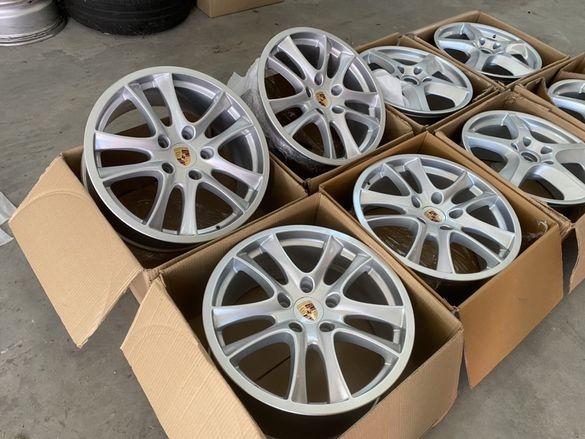 Porsche 20 цола нови джанти 5х130 Cayenne Panamera Vw Touareg