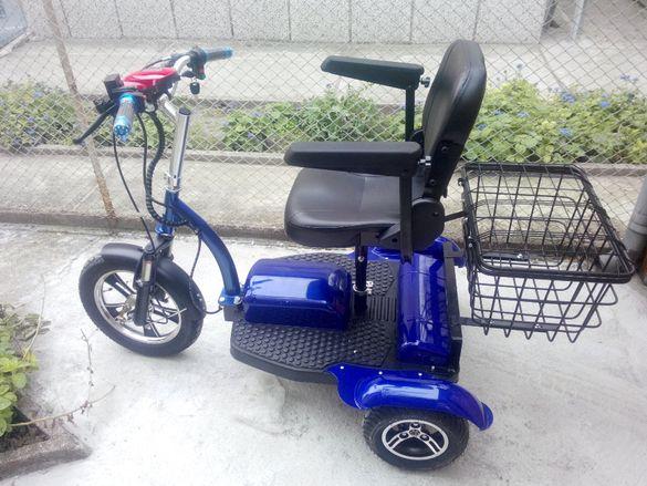 Промоция !!! Бърз Инвалиден Електрически Скутер за трудноподвижни хора