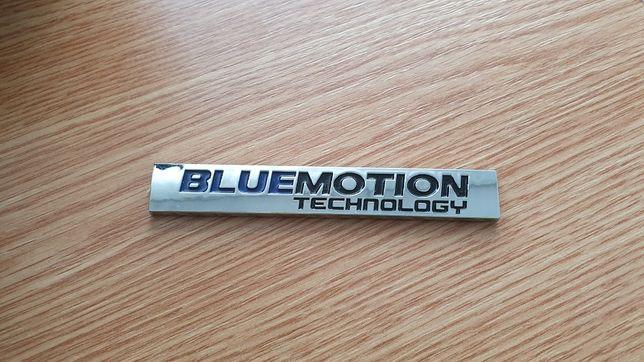 Siglă Volkswagen Bluemotion