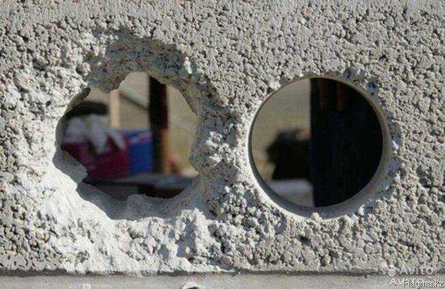 Алмазное бурение / сверление отверстий в бетоне
