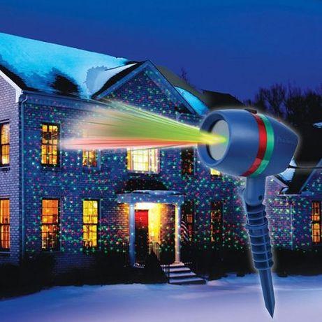ПРОМОЦИЯ --Лазерен проектор за светлинно шоу с дестанционно управление