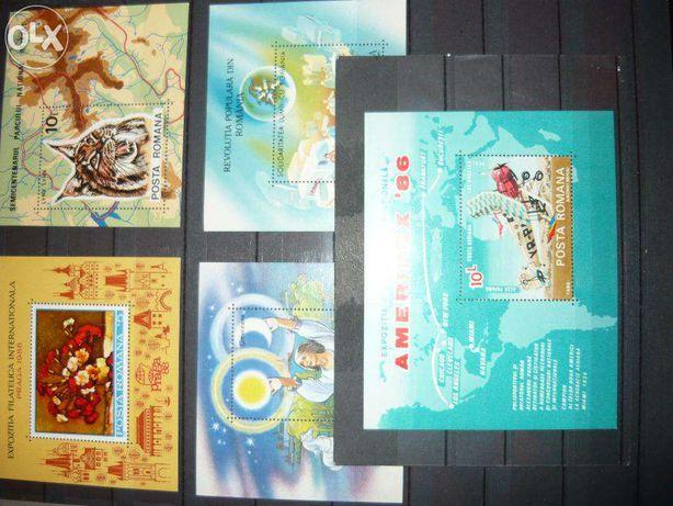 Vand serii intregi de timbre