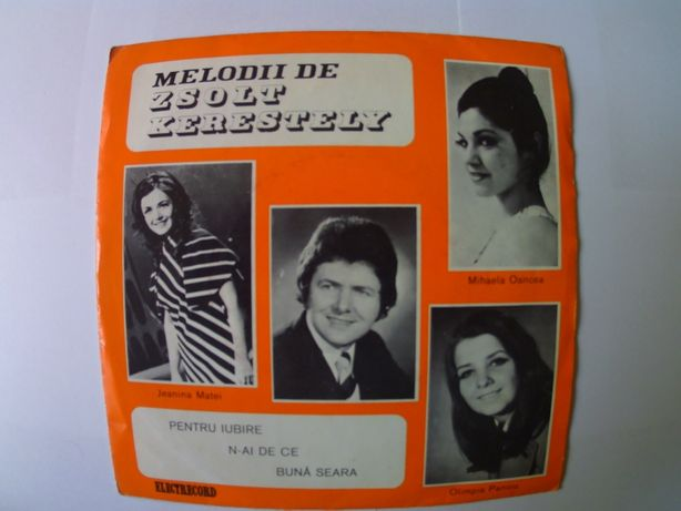 Placi vinil , disc pickup , muzica veche romaneasca de colectie