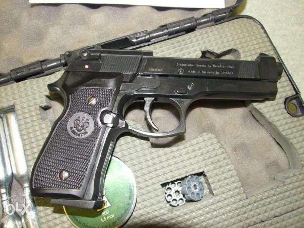 Beretta Cal.6mm (Pistol EXTREM DE PUTERNIC!)cu aer comprimat Airsoft
