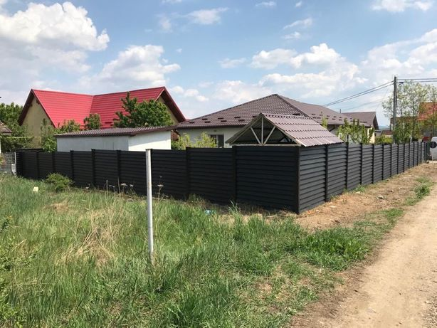 Gard lemn de brad