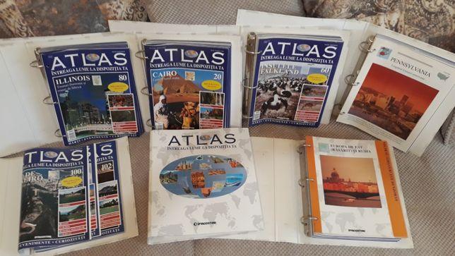 Colectia ATLAS INTREAGA LUME LA DISPOZITIA TA (7 Bibliorafturi/139Nr)