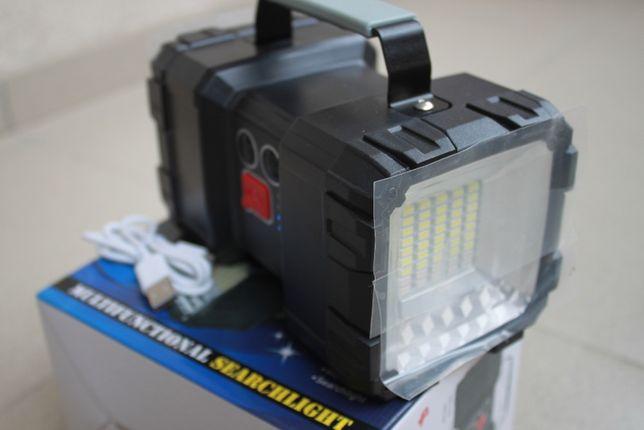 Lanterna dubla Cu Acumulator Functie PowerBank Si Stroboscop