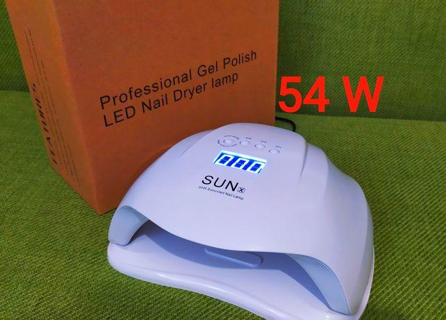 SunX 54ватт Бесплатная доставка Лампа для маникюра Лампа для гель-лака